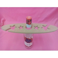 12mm  MDF Glass and bottle holder with stars